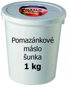 Máslo pomazánkové šunka 1kg