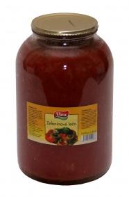 Lečo zeleninové S/4 3,5kg