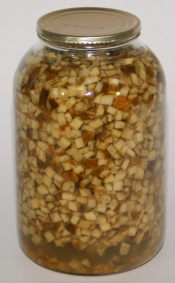 Okurky sterilované kostky S/4 1,7kg
