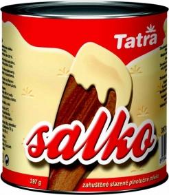 Mléko Kondenzované Salko 397 g slazené