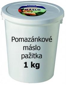 Máslo pomazánkové pažitka 1kg