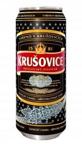 Pivo Krušovice černé 0,5lit.sklo