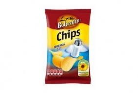 Chips Bohemia solené 77g