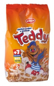 Cereálie Teddy s medem 375g