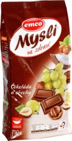 Müsli čokoláda + ořechy 750g