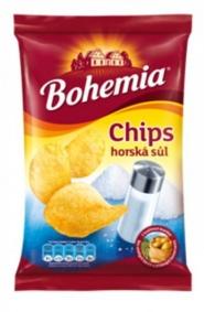 Chips Bohemia horská sůl 30g