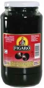 Olivy černé bez pecky 935g