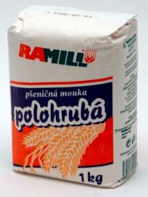 Pšeničná mouka polohrubá 1 kg
