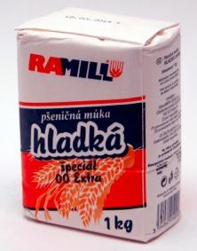 Pšeničná mouka hladká světlá 1 kg