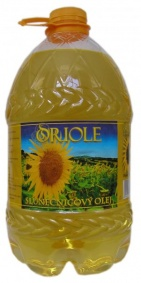 Olej slunečnicový 3 x 5l