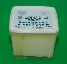 Balkánský sýr farmářský 4kg