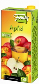 Džus jablko 100% 1lit.