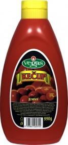 Kečup jemný folie 900g