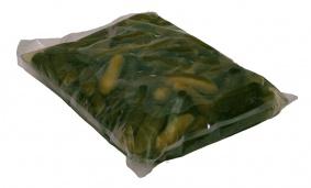 Okurky sterilované 10-12cm vak 8 kg