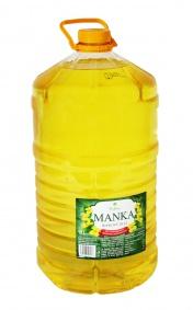 Olej MANKA - řepkový olej 10l PET