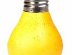 žárovka v podobě brambory